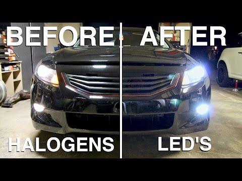 Led lights for halo headlights