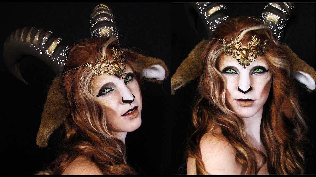 Faun Makeup Tutorial Mythological Creatures