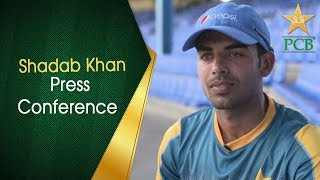 Shadab Khan press conference after day one at Leeds | PCB