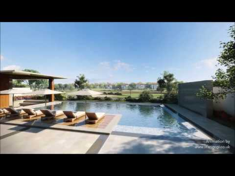 High-end residential living Dubai, HD CGI architectural anim