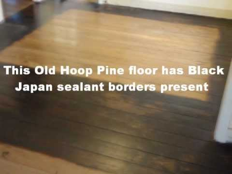 Economy Floor Sanding Brisbane Black Japan sealantwmv