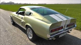 1967 Shelby GT500 revving and accelerations