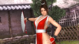 Repeat youtube video Dead or Alive 5: Last Round - Mai Shiranui All Costumes including DLC - PS4 1080p