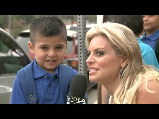 Do you have a girlfriend ?  Reporter Makes A Kid Cry During Interview! New Video