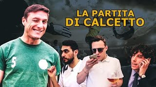 LA PARTITA DI CALCETTO