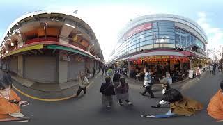 Ameyoko Tokyo Japan 360 degree VR movie
