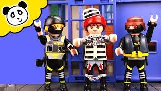 Playmobil Polizei - Kevin im Hochsicherheits Gefängnis - Playmobil Film