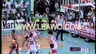1989 PBA Open Finals: SMB vs Shell