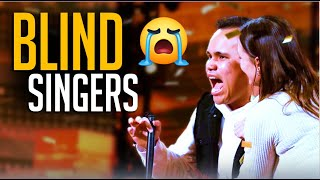 Top 10 BEST Blind Singers Auditions Will Make You CRY!