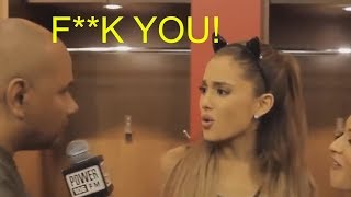 Ariana Grande Triggered Over Question During Interview... (Loses Mind)