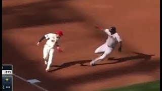 MLB Delayed Steal Fails