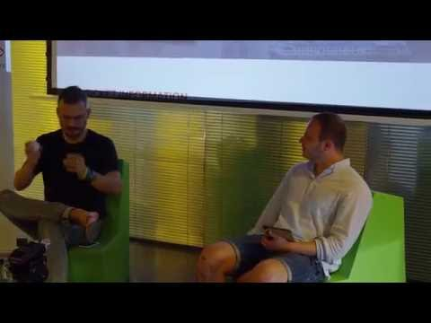 Simon Sicko (Pixel Federation) at Startup Grind Bratislava
