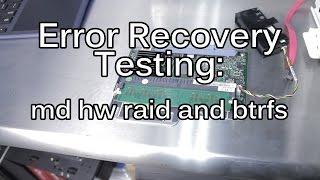 RAID Failures: Part 2: BTRFS and ZFS can be better than Hardware Raid