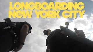LONGBOARDING NEW YORK CITY #fortunetraveller