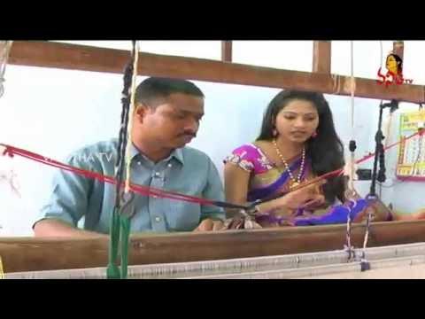 Koyyalagudem Cotton & Rajkot Pattu Fabrics Weaving - Krishnamma Sogasulu || Pushkaralu Special
