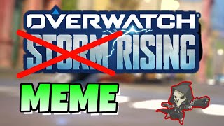 Overwatch Storm Rising but with MEMES! Resimi