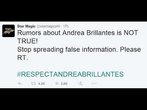 ANDREA BRILLANTES SCANDAL true or Not? watch it.