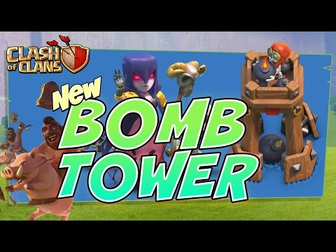 Clash of Clans NEW Bomb Tower | WITCH Update