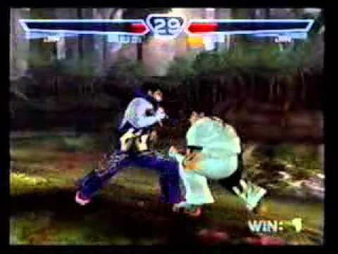 Jin vs Jin (Finals) - Game 4 - Tekken 4...