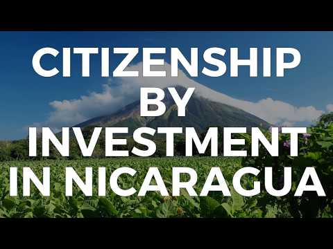 CITIZENSHIP BY INVESTMENT IN NICARAGUA