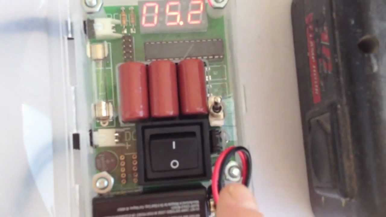 Test Batteries For Sulfation Using Da Pimp Youtube Nicad Battery Charger By Fet Irf9530