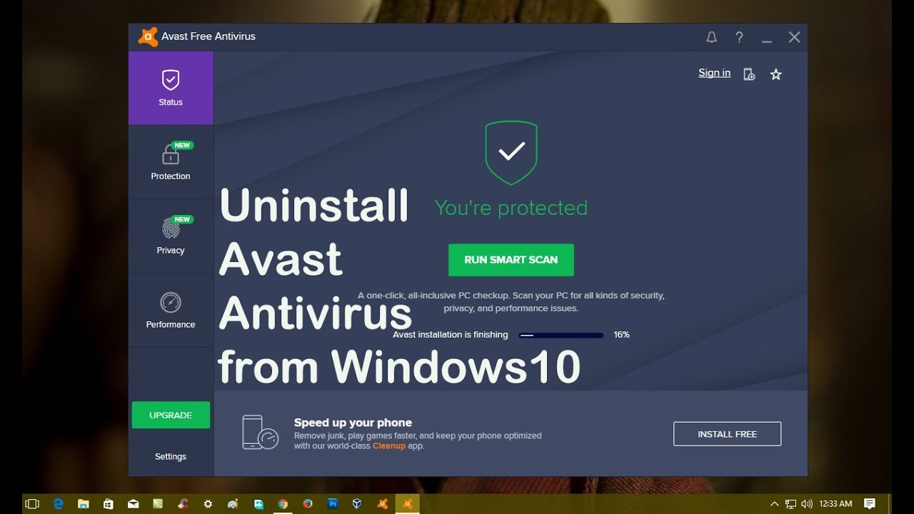 is avast a good antivirus for windows 10
