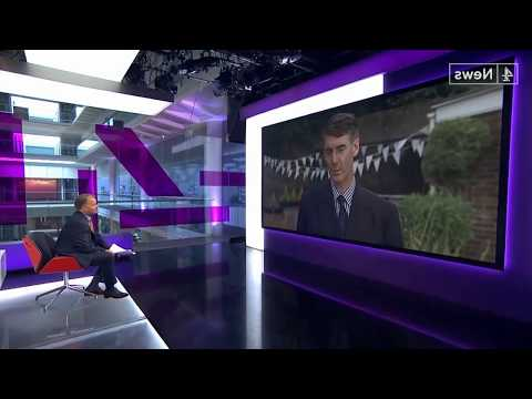Channel 4 News Drills Jacob Rees Mogg Over Brexit and Donald Trump's UK Visit