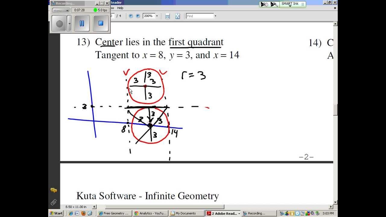 Equations Of Circles 1