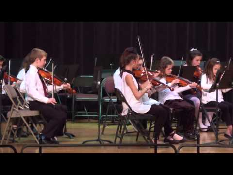 East Pikeland Elementary School Advance Orchestra - 2015 Winter Concert