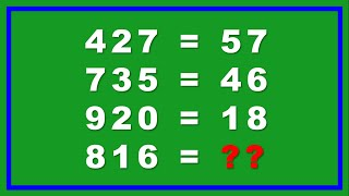 Math Puzzles With Answers Only Genius Can Solve Part 1