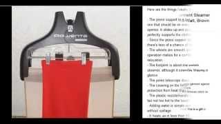 rowenta is6300 garment steamer press support 1550 watt
