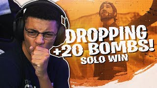 DROPPING A 22 BOMB! AGGRESSIVE SOLO WIN (Fortnite BR Full Match) thumbnail