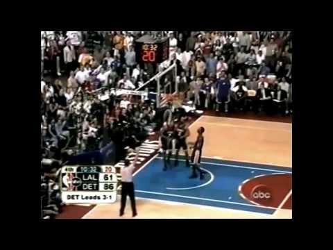 2004 NBA Finals - Los Angeles vs Detroit - Game 5 Best Plays
