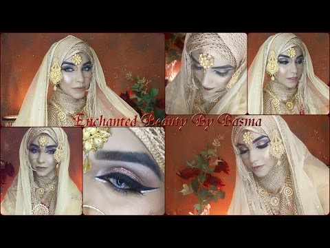 Dramatic Eyes | Asian Bridal Makeup Tutorial | Traditional Look