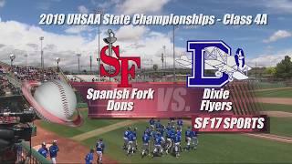 Spanish Fork vs Dixie Baseball     May 20, 2019