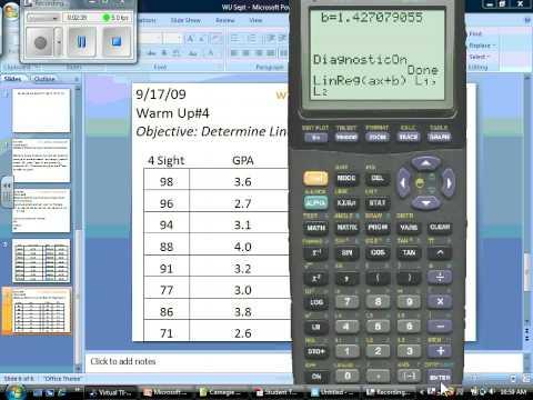 Linear Regression Problem