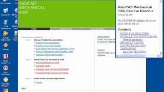 how to install autocad 2006