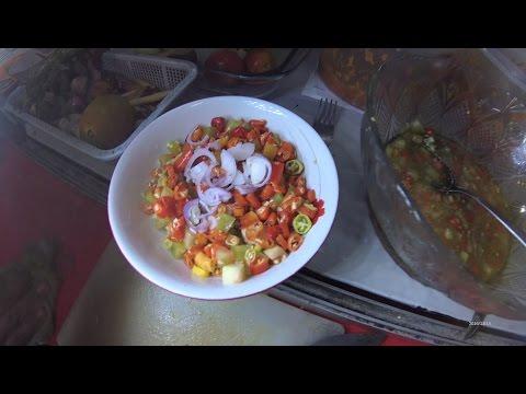 Jakarta Street Food 1037 Part.1 Gorontalo Dabu-Dabu Cakalang Grilled  Ikan Bakar Cakalang Dabu2 5908