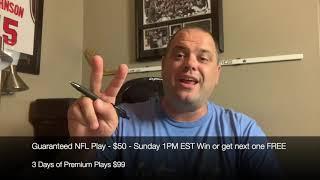 FREE NFL Sports Picks Sunday 10/20/19