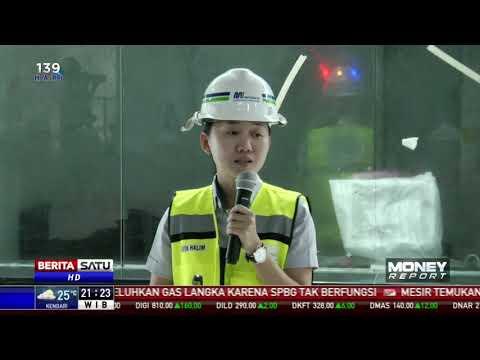 Pengerjaan MRT Rute Lebak Bulus-Bundaran HI Mencapai 97,52 Persen