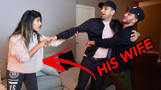 Stealing ZAID ALI from his WIFE... *Cute Couple*