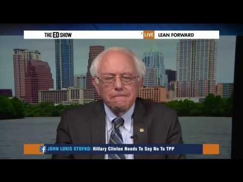 Bernie's Four-State Swing