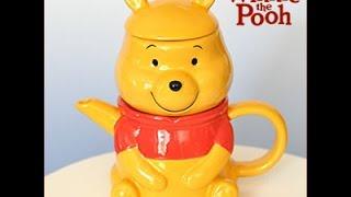 Winnie the Pooh Ceramic Set, teapot and teacup.