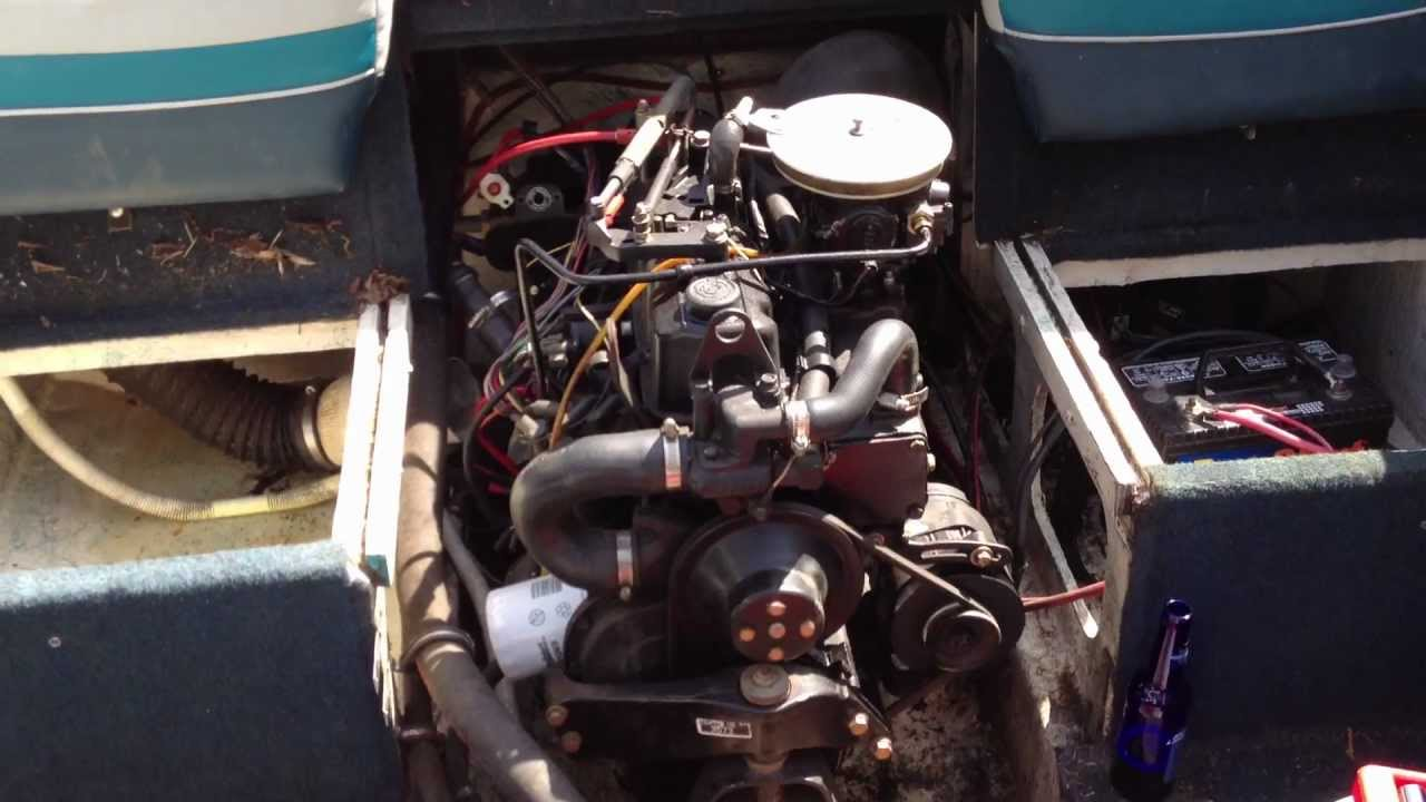 Mercruiser 30 with Starter problems  YouTube