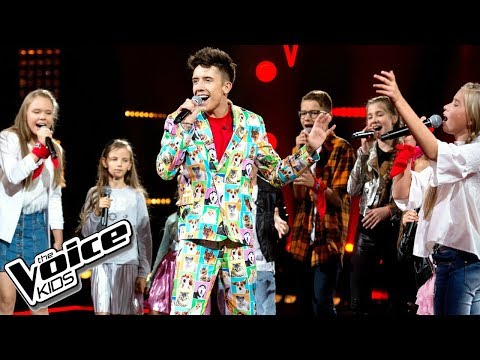 Drużyna Dawida - 'Rozpalimy ogień' - The Voice Kids Poland 2