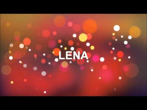 Joyeux Anniversaire Lena Youtube