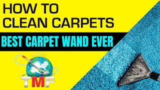Best Carpet Cleaning Wand Ever?  TMF Dang Pro