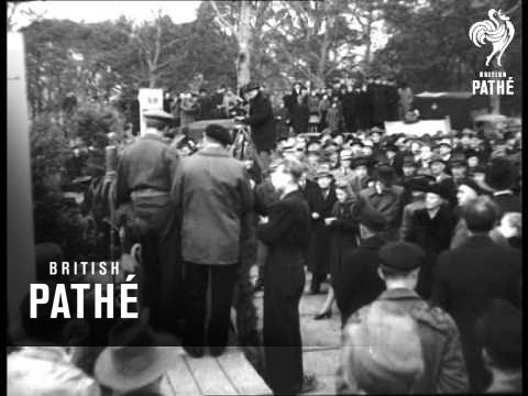 Berlin Christmas 6 Months Into Blockade (1948)