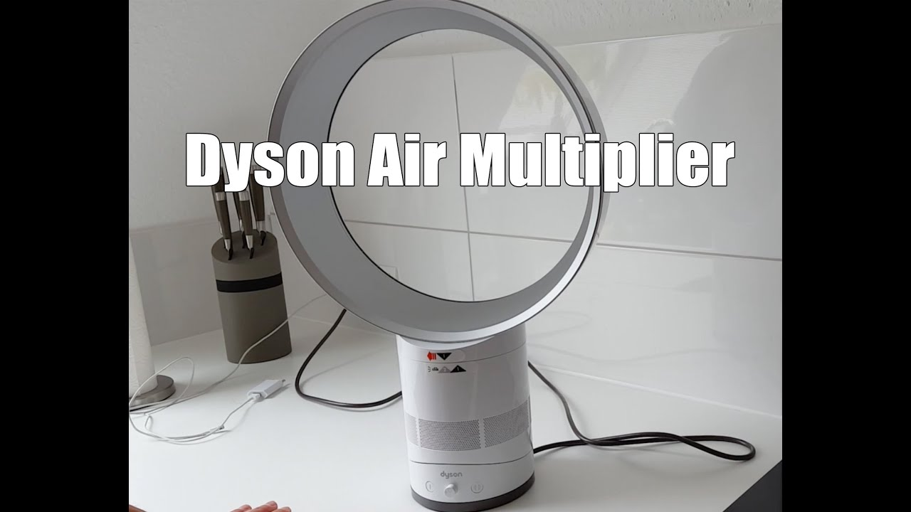 dyson ventilator air multiplier review test dyson ventilator test deutsch youtube. Black Bedroom Furniture Sets. Home Design Ideas