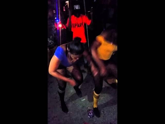 Tilly and Lando msquad, dancing at jb mondaze 2014